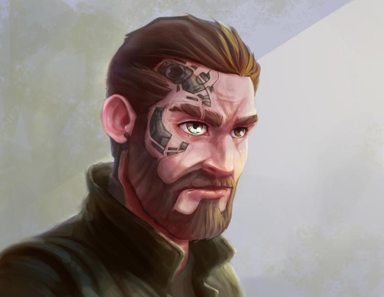 Enhanced - illustration, painting - adman2808 | ello