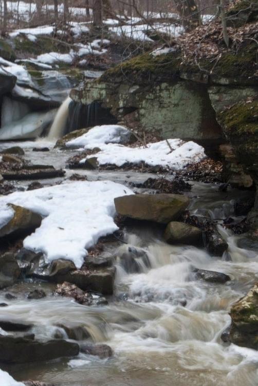 Deer Lick Cave Falls Brecksvill - angelasabetto | ello