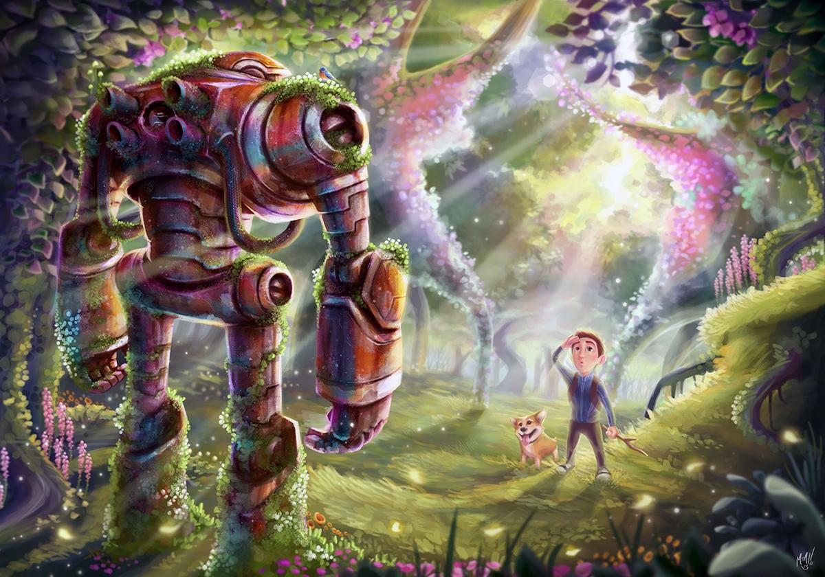 Discovery - illustration, painting - adman2808 | ello