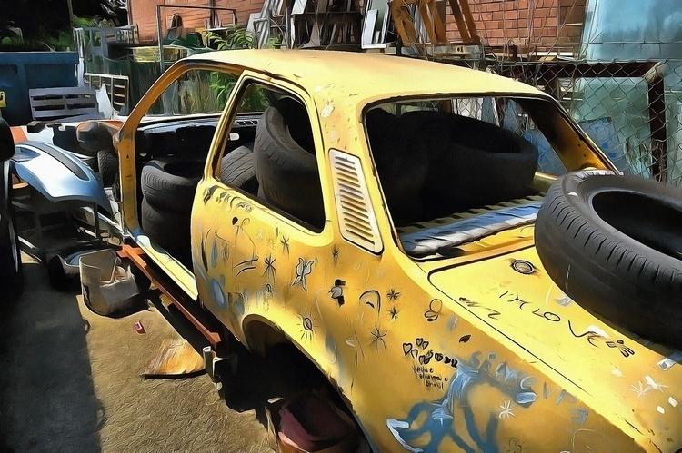 Demolished Car - car, demolishedcar - bariom | ello