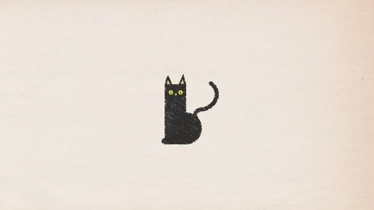 cat, illustration - scottwenner | ello