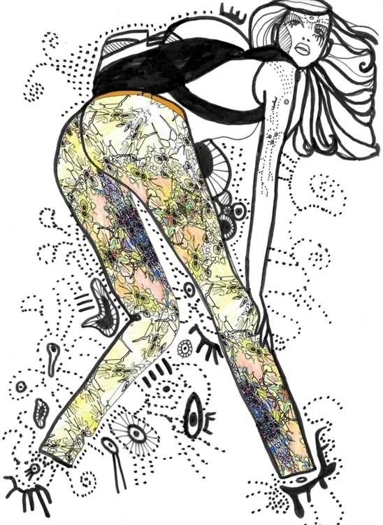 illustration, drawing, fashion - bjorg-5645 | ello