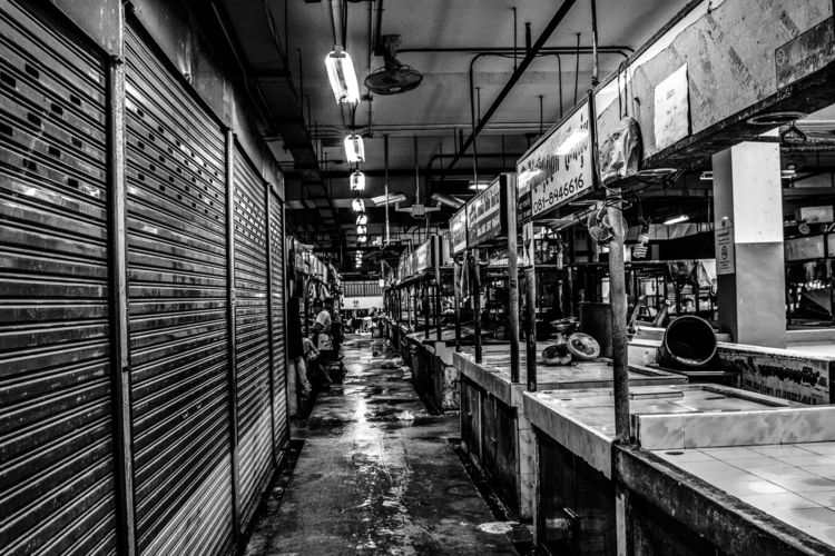 Closed market - travelphotography - lincoln_inc | ello