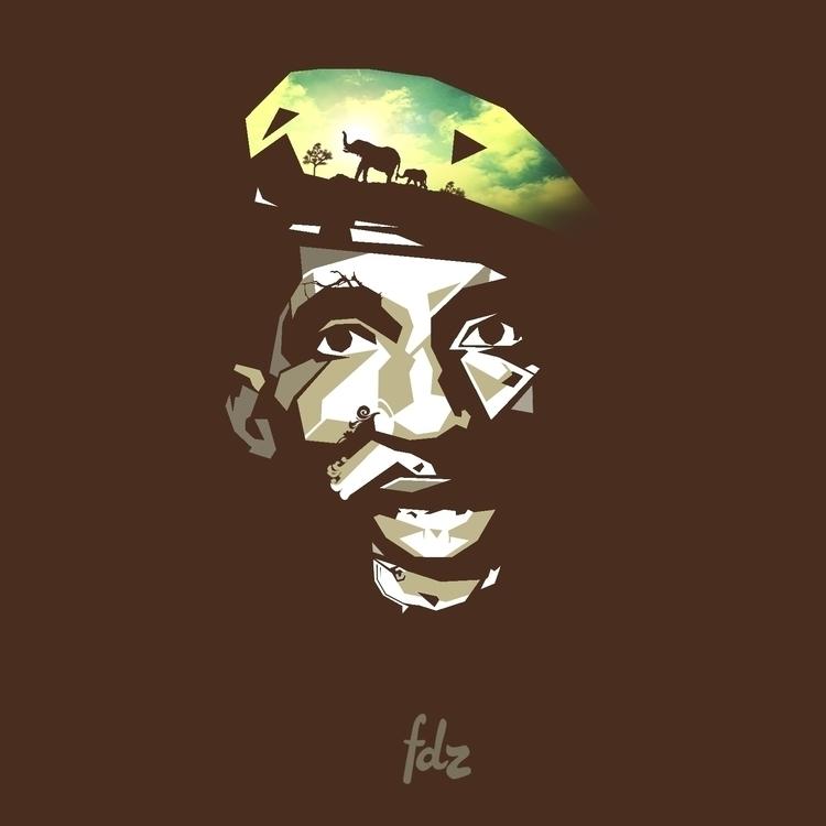 Thomas Sankara - sankara, africa - fdz-1239 | ello