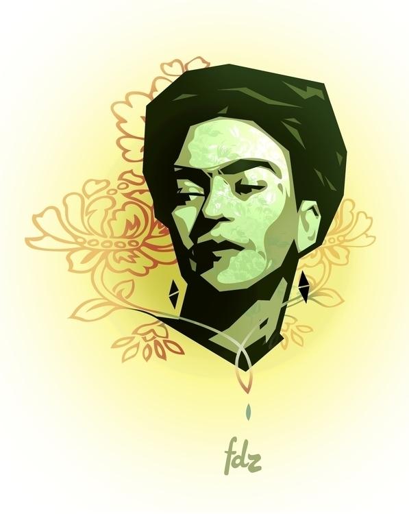 Frida Khalo - fridakahlo, floral - fdz-1239 | ello