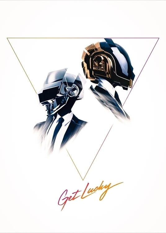 design, colors, music, daftpunk - univerz | ello