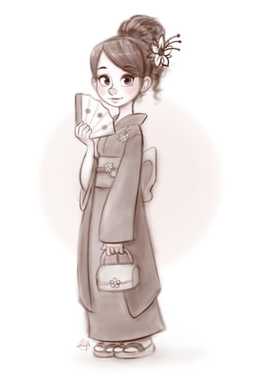 Kimono Girl - LuigiLucarelli - luigil-2352 | ello