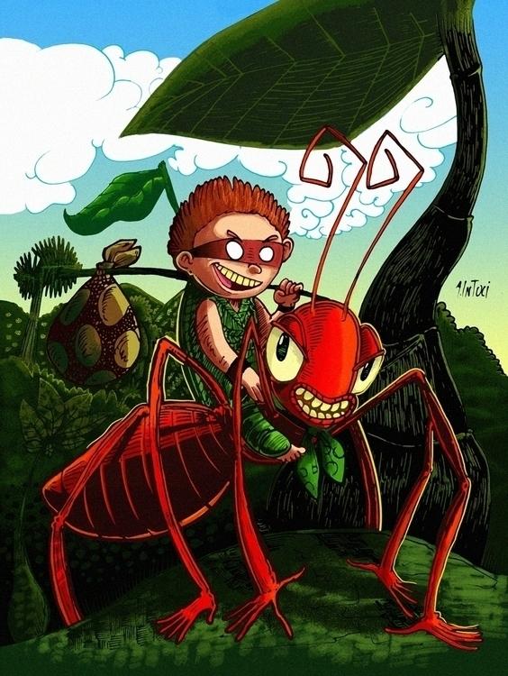 Otro Personaje - Ant, boy, tiny - alfredointoci | ello