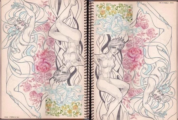 Mah Sketch Journal. flipped ver - sksk270 | ello