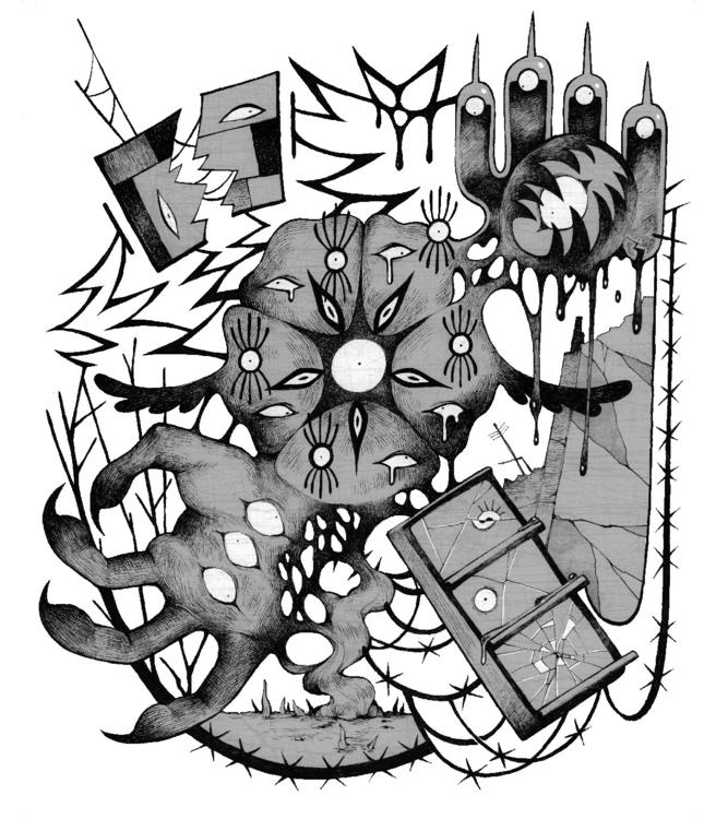 Abyss - Floraverse Tshirt desig - glitchedpuppet | ello