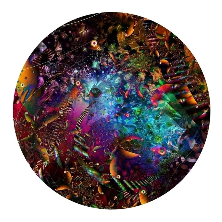 PARTY 11 2013K: 42w 42h fractal - pinzarrone | ello