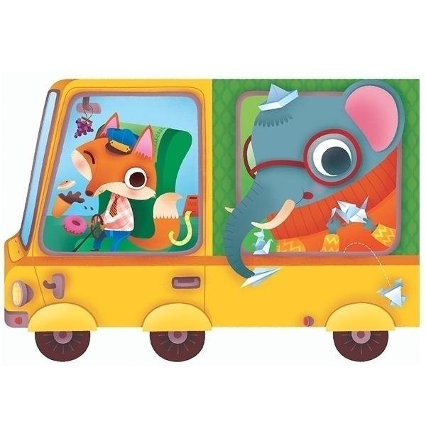Le train des animaux bus titles - beatricecostamagna | ello