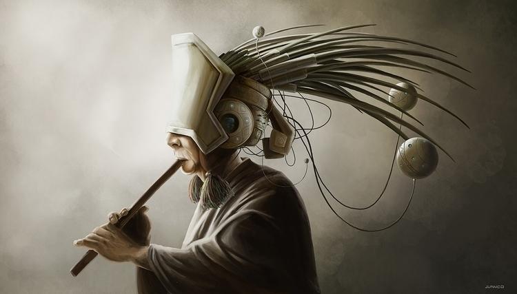 Futurista - characterdesign, character - juanco-1165 | ello