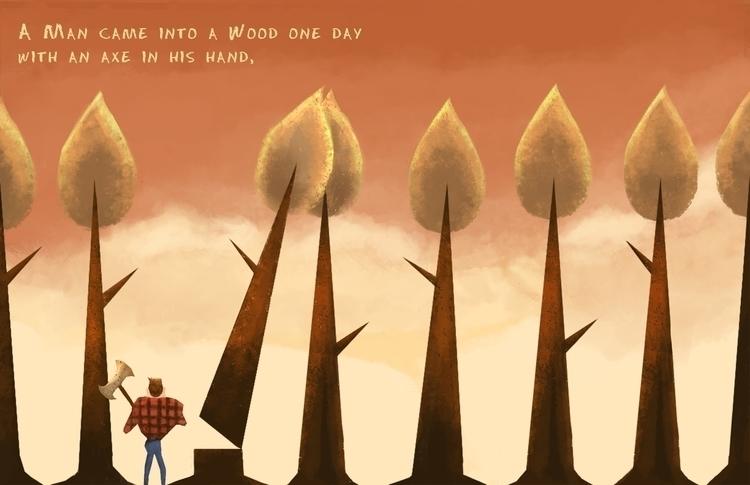 illustration, conceptart, children'sillustration - natehaywood   ello