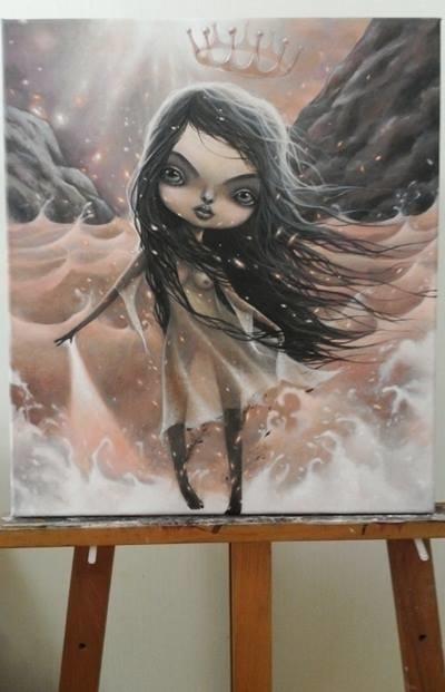 eundoll , eve - painting - beekim | ello