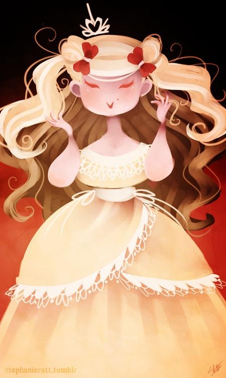 Princess - digitalart, princess - stephanierat | ello