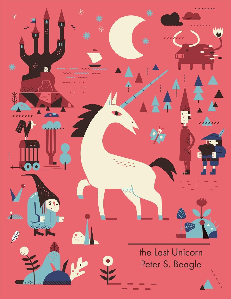unicorn / cover poster - illustration - schnuppe | ello