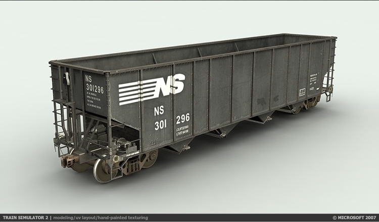 Train Sim 2 - 4 Bay Hopper Mode - blksrfc | ello