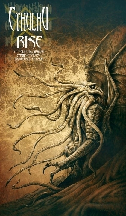 Cthulhu Rise - illustration - mariozuccarello_artworks | ello