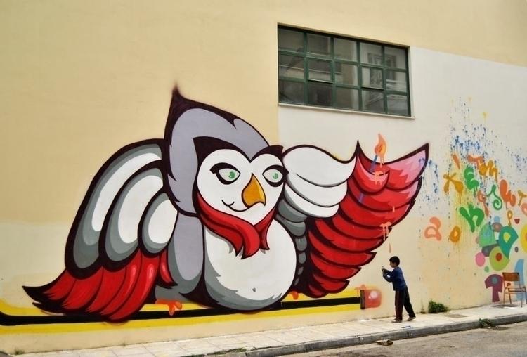 mural 2013 - graffiti,urban,street,character - kaiman-6057 | ello