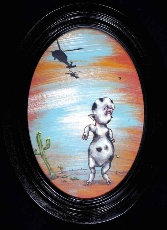 Cow Kid - Painting - tilman-1445   ello