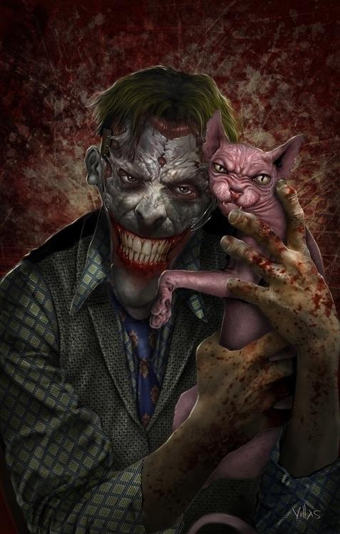 JOKER - joker, pshyco, killer, batman - carlosvillas   ello