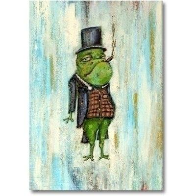 Froggie - Painting - tilman-1445 | ello