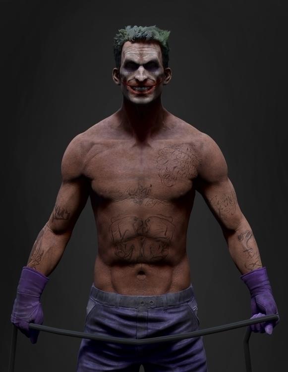 Joker - animation, characterdesign - baratha | ello