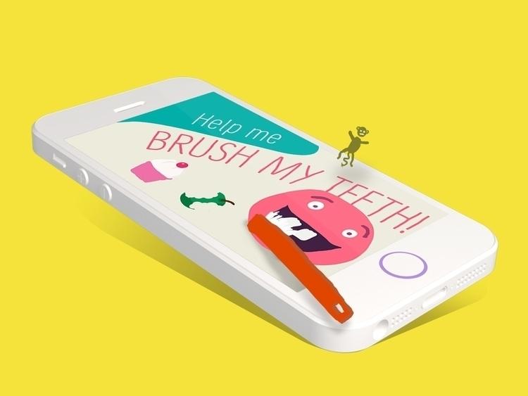 game kids brush teeth - ipad, iphone - skuggan | ello