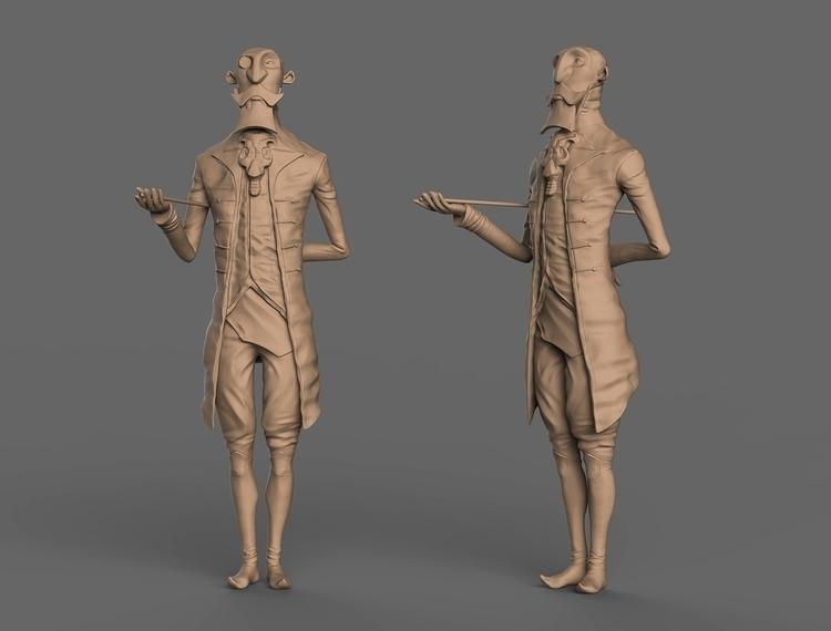 Lord - characterdesign, 3d, gameart - baratha   ello