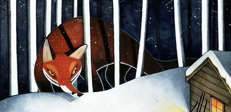 Fox story based norse folklore - kristinrian | ello