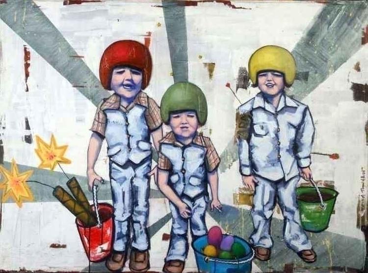 boys - Painting - tilman-1445   ello