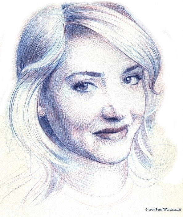 Pencil Portrait - illustration, pencildrawing - pwilster | ello