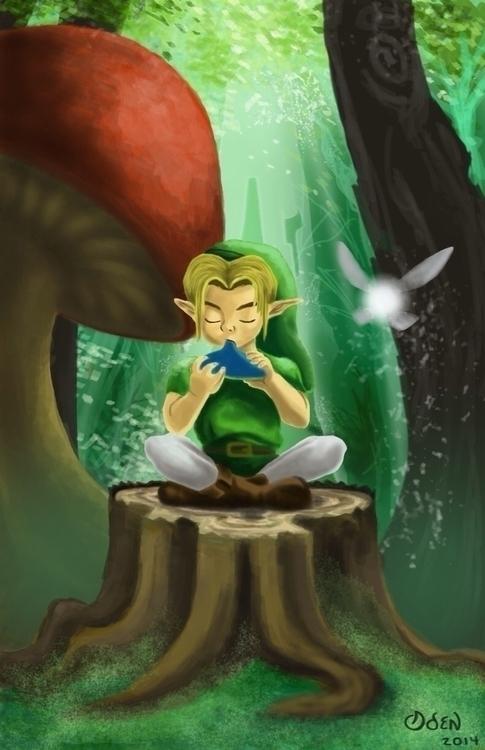 Legend Zelda - thelegendofzelda - justinoden | ello