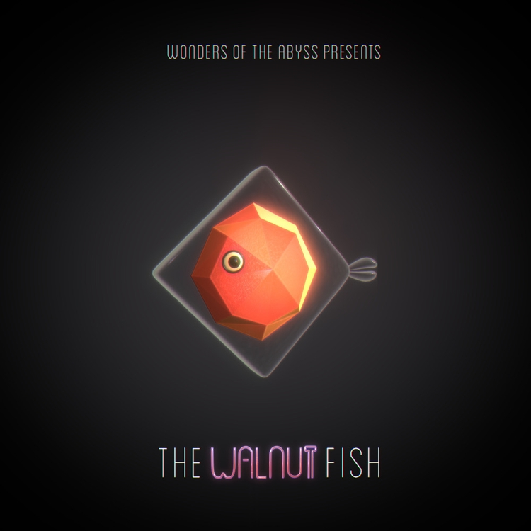 fish, nut, abyss, deepsea, lowpoly - chafouinade | ello