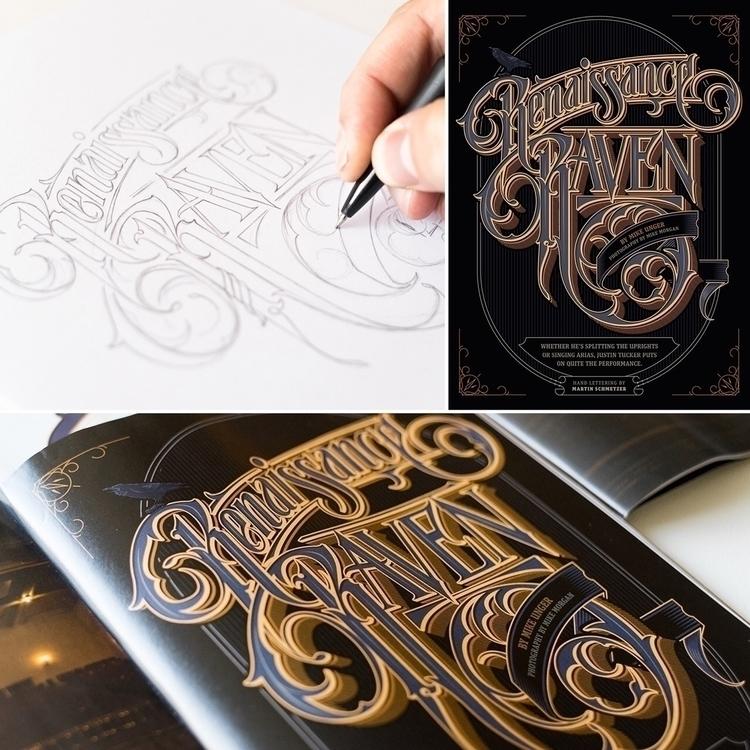 Hand drawn Renaissance Raven ti - schmetzer | ello