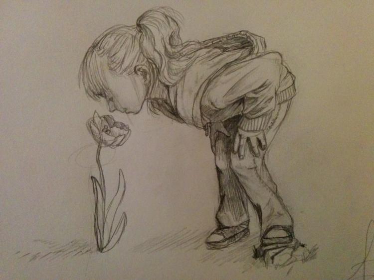 Sketch - drawing, illustration, conceptart - 3dbell | ello