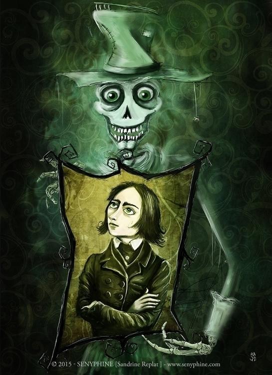 Death Liszt Illustration upcomi - senyphine | ello