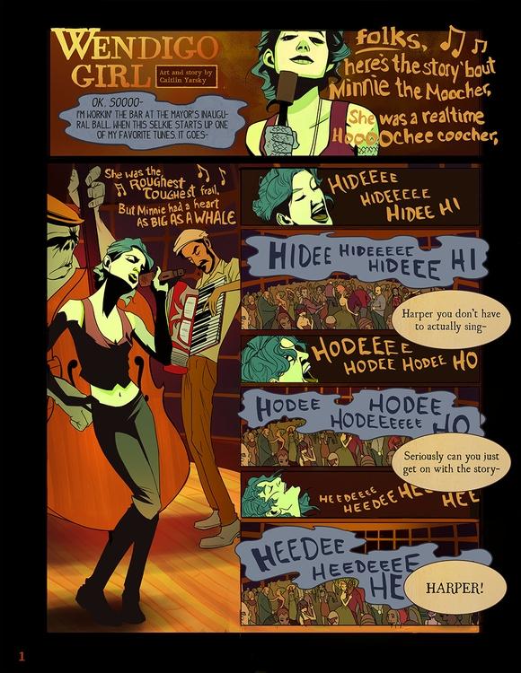 Harper Finn- PAGE 1 - comics, comicbooks - caitlinyarsky | ello