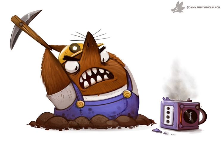 Daily Paint RESET (delayed dail - piperthibodeau | ello