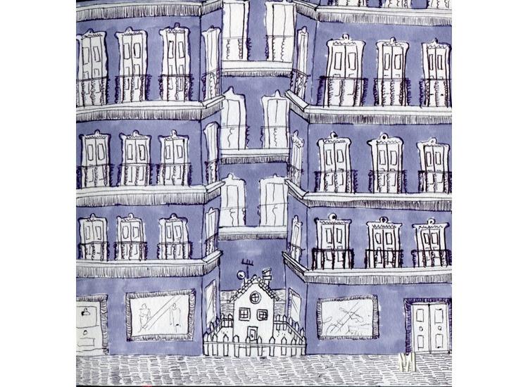 Fortress - drawing, illustration - mirilustra | ello