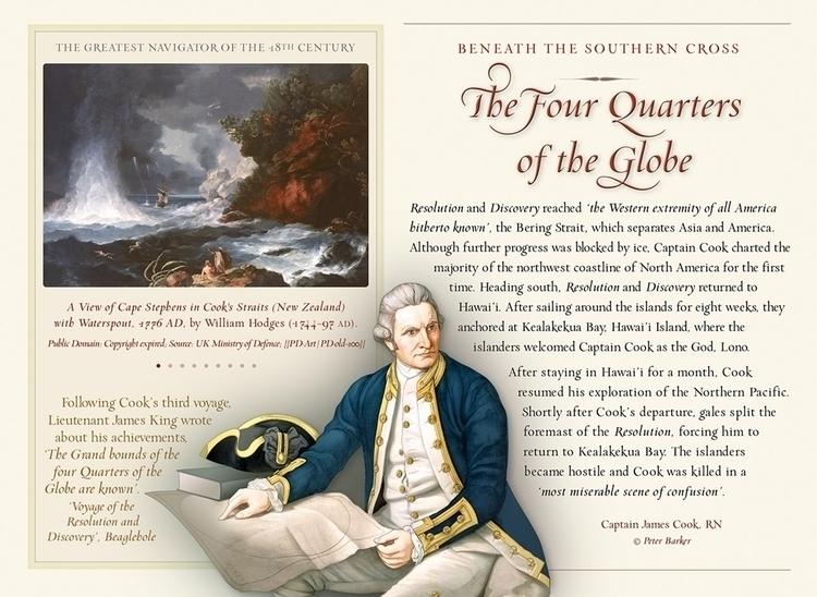 Quarters Globe' – Portrait Capt - pjb-1610 | ello