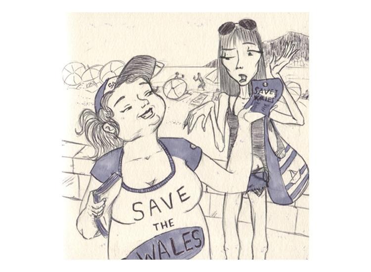 Save wales - illustration, drawing - mirilustra | ello