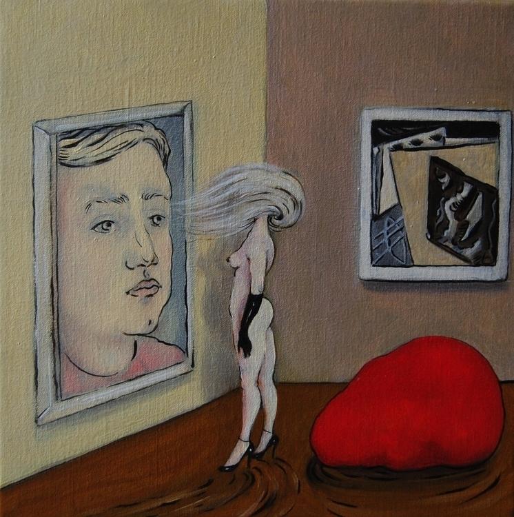 painting, oiloncanvas, nakedwoman - nicolemanieu | ello