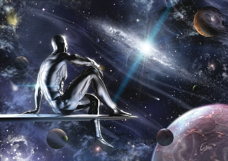 Observing Silver Surfer - silver - eamon-9249 | ello