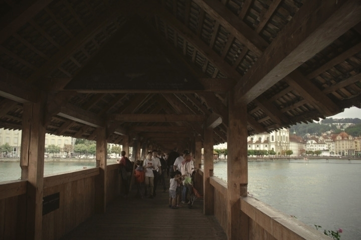 Lucerne | Chapel Bridge - photography - joanasantos | ello