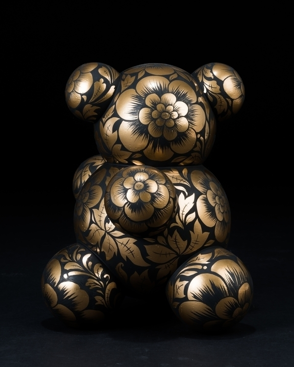Mishka, Russian Bear - bear, molecule - anyuta | ello