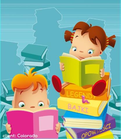 books - illustration, book, library - marcinpoludniak | ello