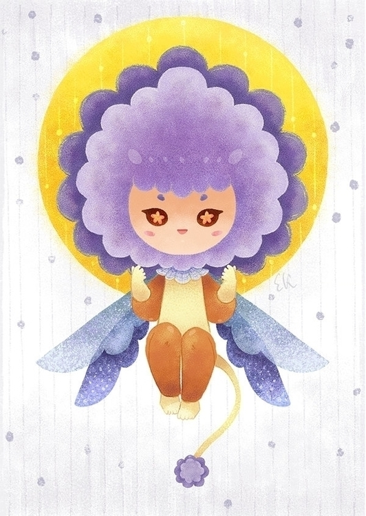 Flower Lion Fairy - fairy, illustration - candyfox | ello