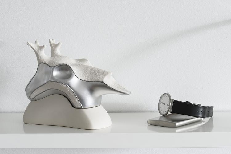 Silver Ghost OLEN - sculpture, deer - anyuta | ello